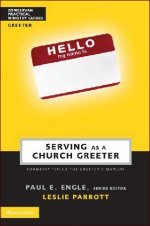 Serving as a Church Greeter by Leslie Parrott
