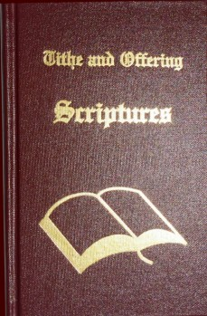 Tithe and Offering Scriptures by Leon Bible
